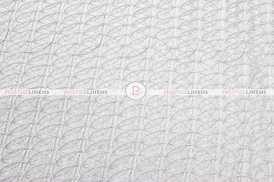 Dream Catcher Napkin - White Silver (Taffeta)
