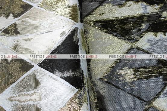 Montage Napkin - Black/Gold
