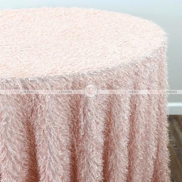 MINKY TABLE LINEN - BLUSH