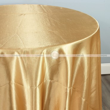 Shantung Satin Table Linen - 226 Gold
