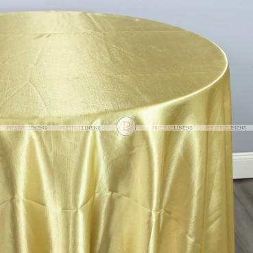 Shantung Satin Table Linen - 229 Dk Gold
