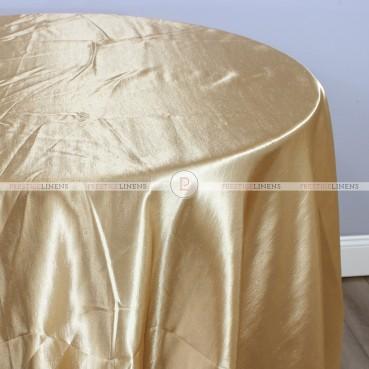 Shantung Satin Table Linen - 326 Khaki