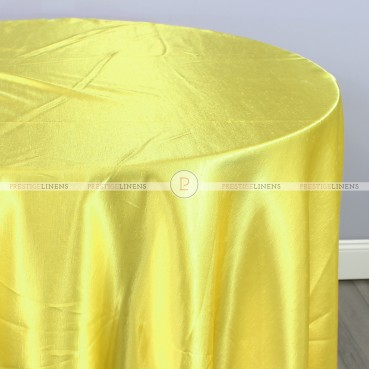 Shantung Satin Table Linen - 426 Yellow