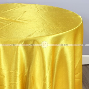 Shantung Satin Table Linen - 454 Pride Yellow