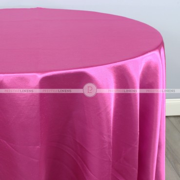 Shantung Satin Table Linen - 529 Fuchsia