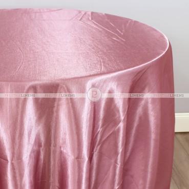Shantung Satin Table Linen - 531 Dk Rose