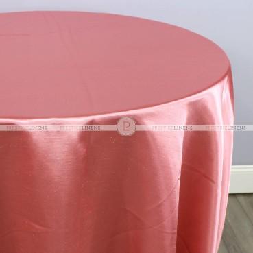 Shantung Satin Table Linen - 642 Brick
