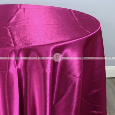 Shantung Satin Table Linen - 645 Raspberry