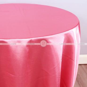 Shantung Satin Table Linen - 652 Pucci Rose