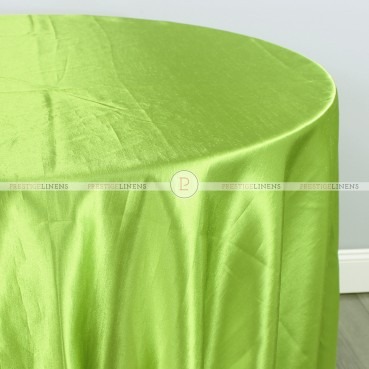 Shantung Satin Table Linen - 726 Lime