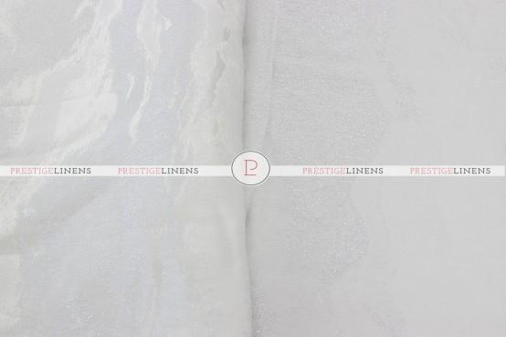 Evening Sky Table Runner - White/Silver