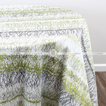 PASTURE TABLE LINEN - GREEN