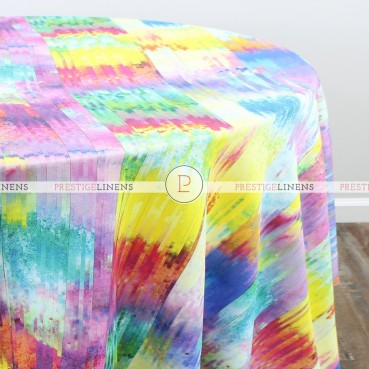 RAINBOW ROAD TABLE LINEN - MULTI