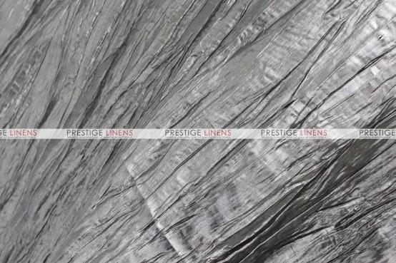 Crushed Taffeta Napkin - 1146 J. Charcoal