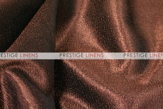 Luxury Textured Satin Napkin - Brown