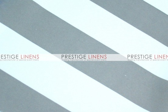 Striped Print Poly Napkin - Grey