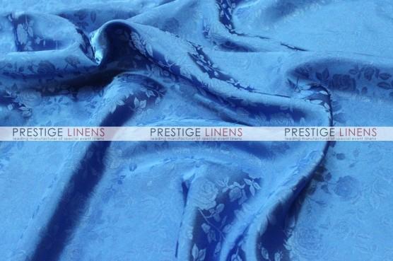 Brocade Satin Aisle Runner - Turquoise