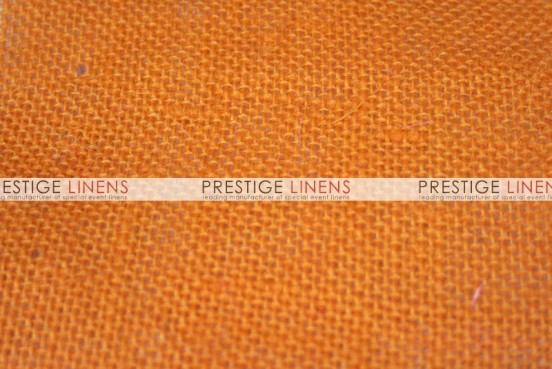 Burlap Aisle Runner - Orange