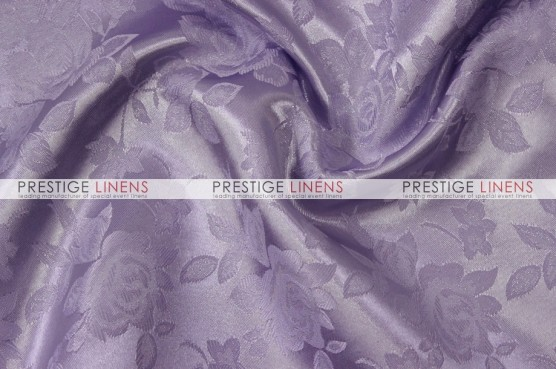 Brocade Satin Pillow Cover - Lavender