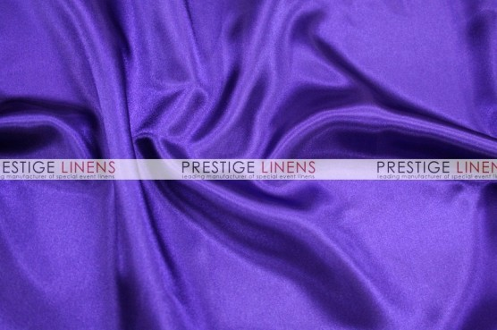 Charmeuse Satin Aisle Runner - 1032 Purple