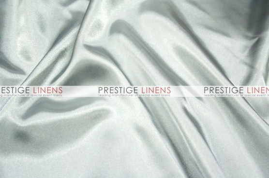 Charmeuse Satin Pillow Cover - 1126 Silver