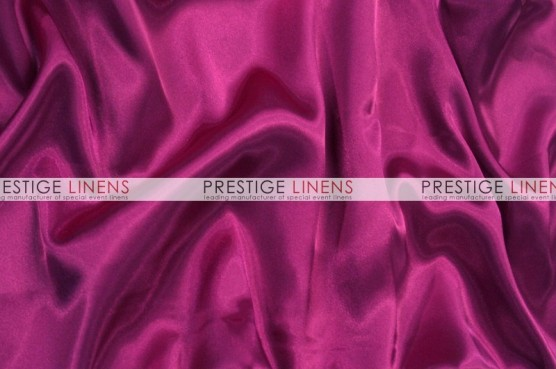 Charmeuse Satin Pillow Cover - 645 Raspberry