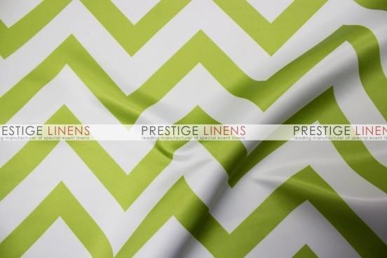 Chevron Print Lamour Pillow Cover - Avocado