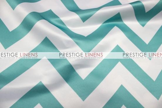 Chevron Print Lamour Pillow Cover - Jade