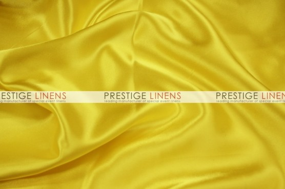 Charmeuse Satin Aisle Runner - 426 Yellow