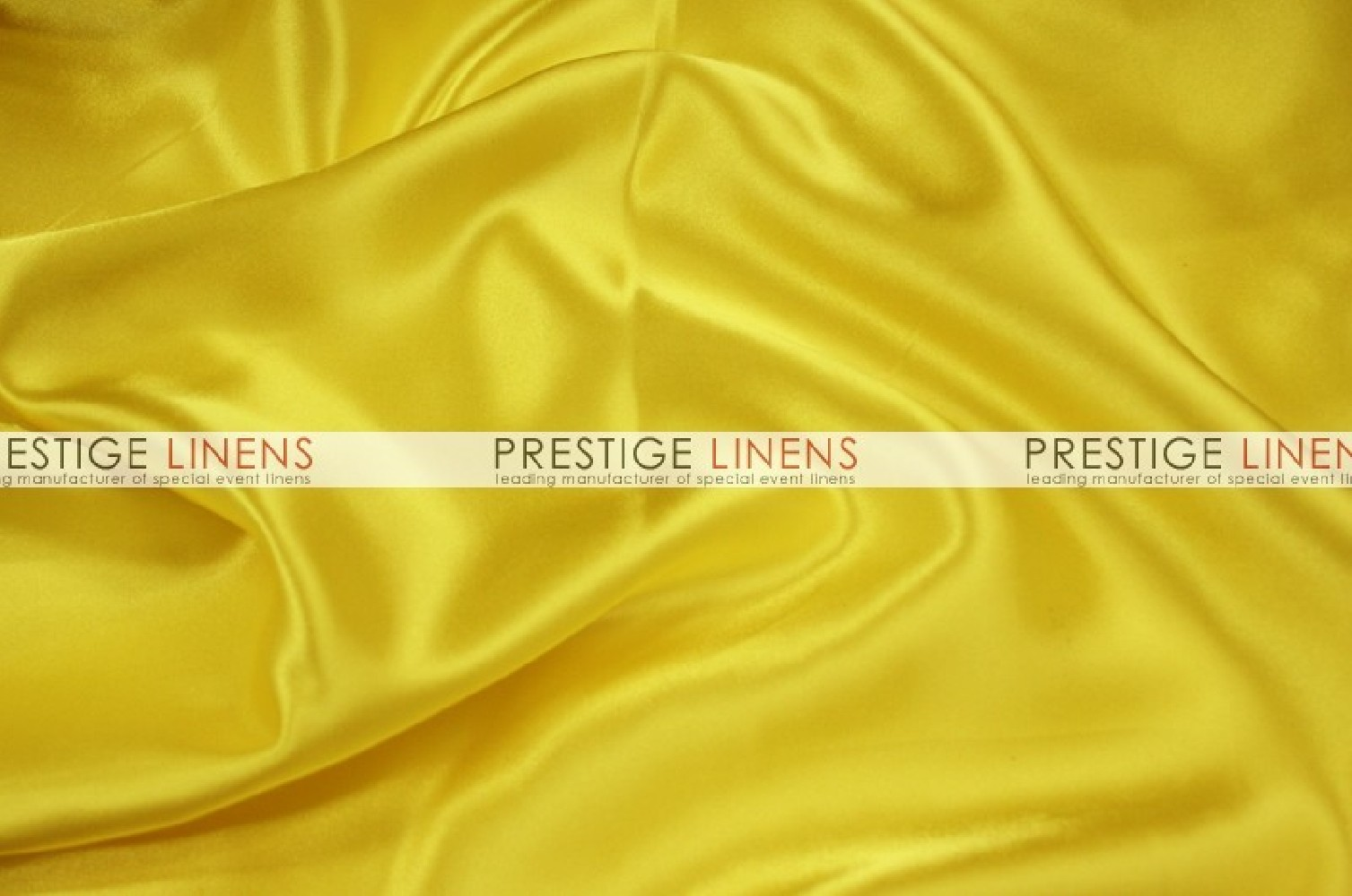 Charmeuse Satin Aisle Runner 426 Yellow