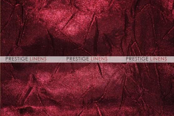 Crushed Bichon Pillow Cover - 628 Burgundy