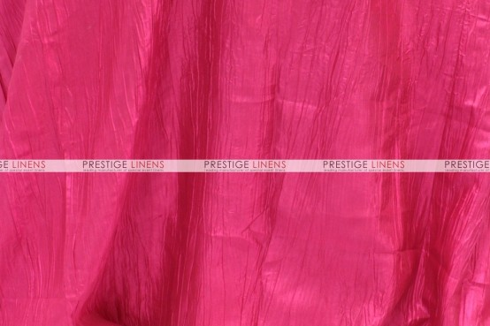 Crushed Taffeta Pillow Cover - 528 Hot Pink