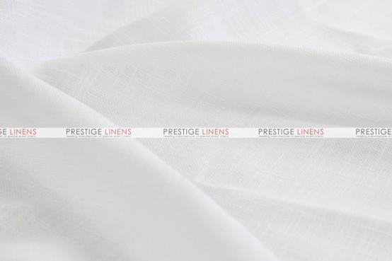 Dublin Linen Pillow Cover - White