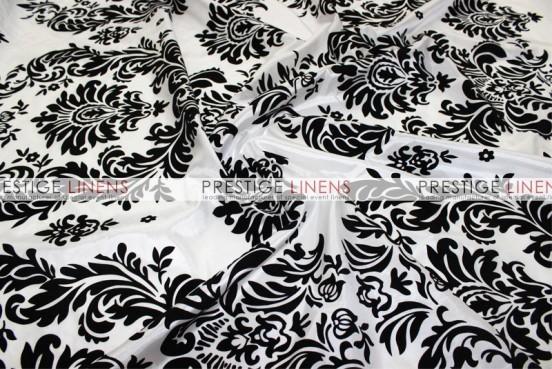 Flocking Damask Taffeta Pillow Cover - Big Damask
