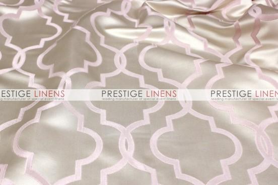 Gatsby Jacquard Pillow Cover - Blush