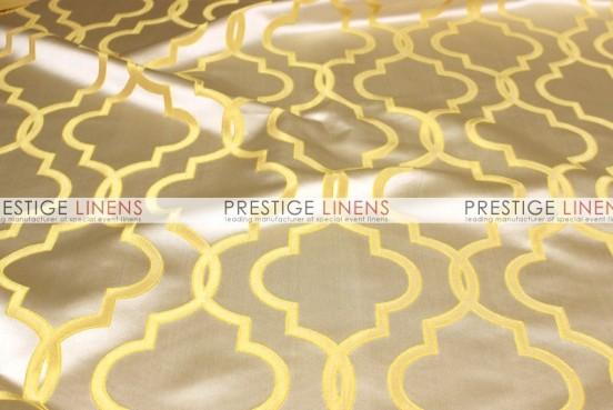 Gatsby Jacquard Pillow Cover - Mustard