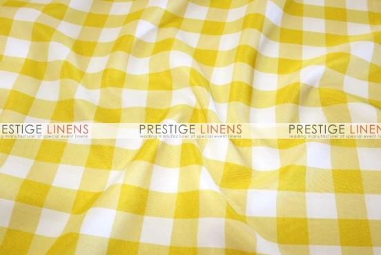 Gingham Buffalo Check Pillow Cover - Yellow