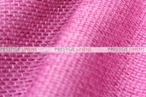Jute Linen Pillow Cover - Rose