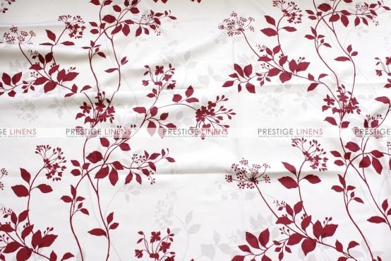 Liz Linen Pillow Cover - Burgundy