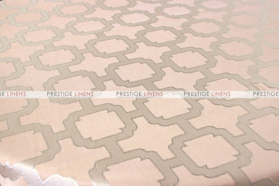 Nancy Graphic Pillow Cover - Blush Peach