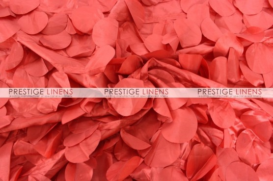 Petal Taffeta Pillow Cover - Red
