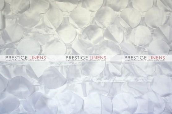 Petal Taffeta Pillow Cover - White