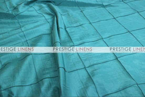 Pintuck Taffeta Pillow Cover - Aqua
