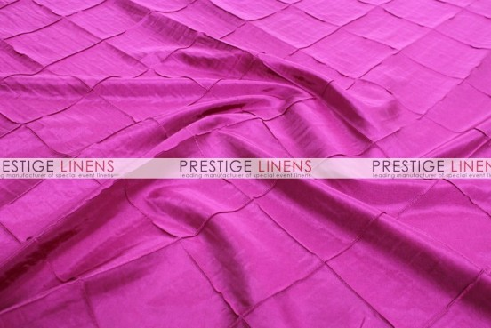 Pintuck Taffeta Pillow Cover - Fuchsia
