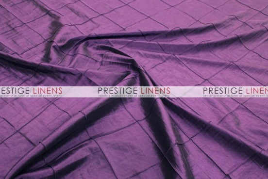 Pintuck Taffeta Pillow Cover - Plum