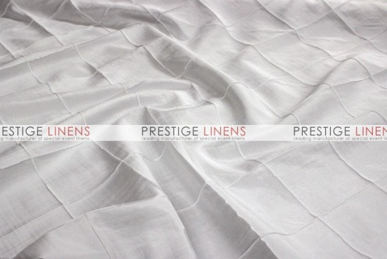 Pintuck Taffeta Pillow Cover - White