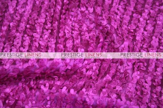 Snow Petal Pillow Cover - Fuchsia