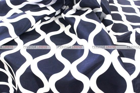 Wisker Bisket Pillow Cover - Navy
