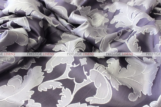 Alex Damask Table Linen - Dark Purple