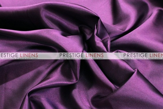 Bridal Satin Table Linen - 1047 Dk Plum